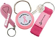 Breast Cancer Awareness Keychains Promotions